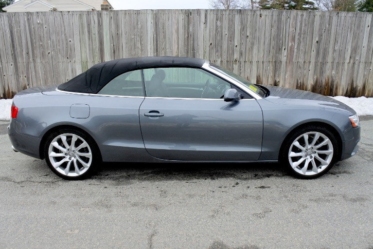 Used 2013 Audi A5 2dr Cabriolet Auto quattro 2.0T Premium Plus Used 2013 Audi A5 2dr Cabriolet Auto quattro 2.0T Premium Plus for sale  at Metro West Motorcars LLC in Shrewsbury MA 12