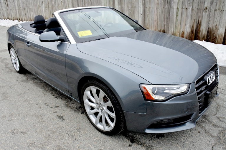 Used 2013 Audi A5 2dr Cabriolet Auto quattro 2.0T Premium Plus Used 2013 Audi A5 2dr Cabriolet Auto quattro 2.0T Premium Plus for sale  at Metro West Motorcars LLC in Shrewsbury MA 13