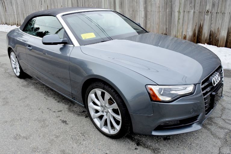 Used 2013 Audi A5 2dr Cabriolet Auto quattro 2.0T Premium Plus Used 2013 Audi A5 2dr Cabriolet Auto quattro 2.0T Premium Plus for sale  at Metro West Motorcars LLC in Shrewsbury MA 14