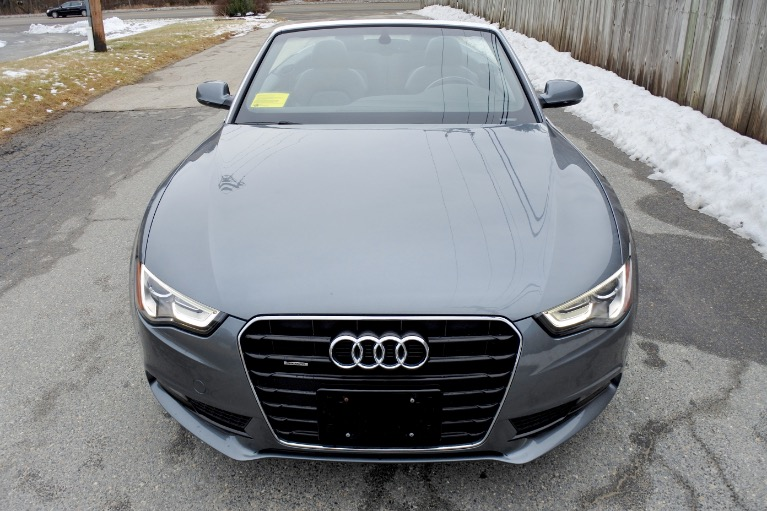 Used 2013 Audi A5 2dr Cabriolet Auto quattro 2.0T Premium Plus Used 2013 Audi A5 2dr Cabriolet Auto quattro 2.0T Premium Plus for sale  at Metro West Motorcars LLC in Shrewsbury MA 15
