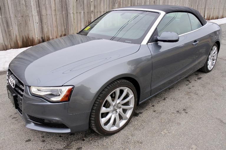 Used 2013 Audi A5 2dr Cabriolet Auto quattro 2.0T Premium Plus Used 2013 Audi A5 2dr Cabriolet Auto quattro 2.0T Premium Plus for sale  at Metro West Motorcars LLC in Shrewsbury MA 2