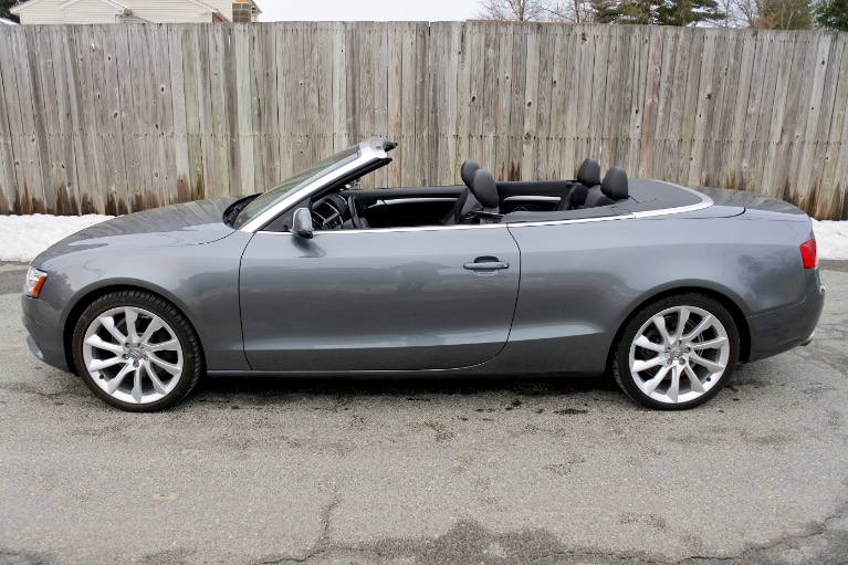 Used 2013 Audi A5 2dr Cabriolet Auto quattro 2.0T Premium Plus Used 2013 Audi A5 2dr Cabriolet Auto quattro 2.0T Premium Plus for sale  at Metro West Motorcars LLC in Shrewsbury MA 3