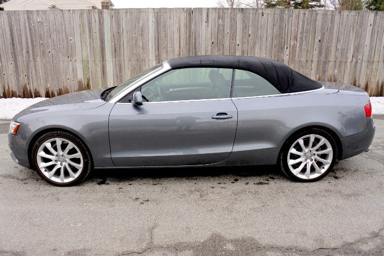 Used 2013 Audi A5 2dr Cabriolet Auto quattro 2.0T Premium Plus Used 2013 Audi A5 2dr Cabriolet Auto quattro 2.0T Premium Plus for sale  at Metro West Motorcars LLC in Shrewsbury MA 4