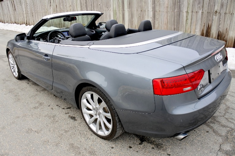 Used 2013 Audi A5 2dr Cabriolet Auto quattro 2.0T Premium Plus Used 2013 Audi A5 2dr Cabriolet Auto quattro 2.0T Premium Plus for sale  at Metro West Motorcars LLC in Shrewsbury MA 5