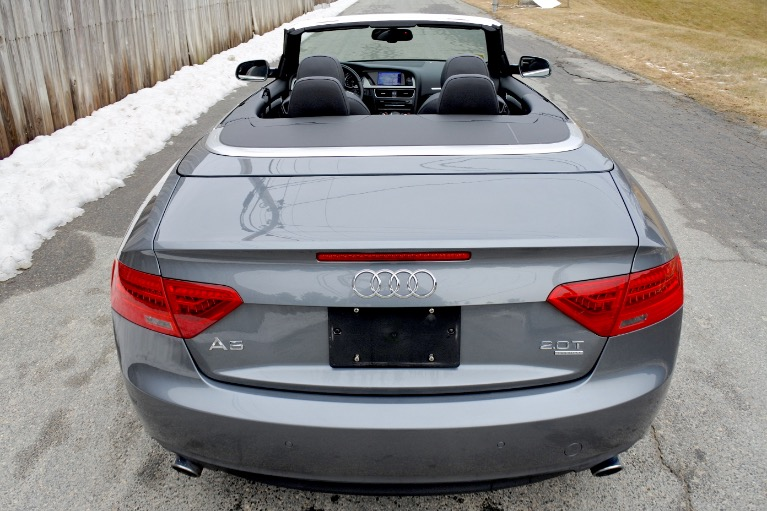 Used 2013 Audi A5 2dr Cabriolet Auto quattro 2.0T Premium Plus Used 2013 Audi A5 2dr Cabriolet Auto quattro 2.0T Premium Plus for sale  at Metro West Motorcars LLC in Shrewsbury MA 7