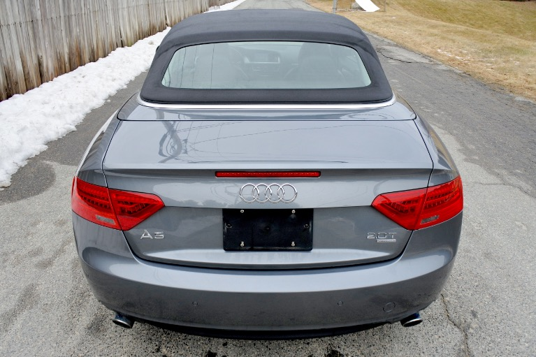 Used 2013 Audi A5 2dr Cabriolet Auto quattro 2.0T Premium Plus Used 2013 Audi A5 2dr Cabriolet Auto quattro 2.0T Premium Plus for sale  at Metro West Motorcars LLC in Shrewsbury MA 8