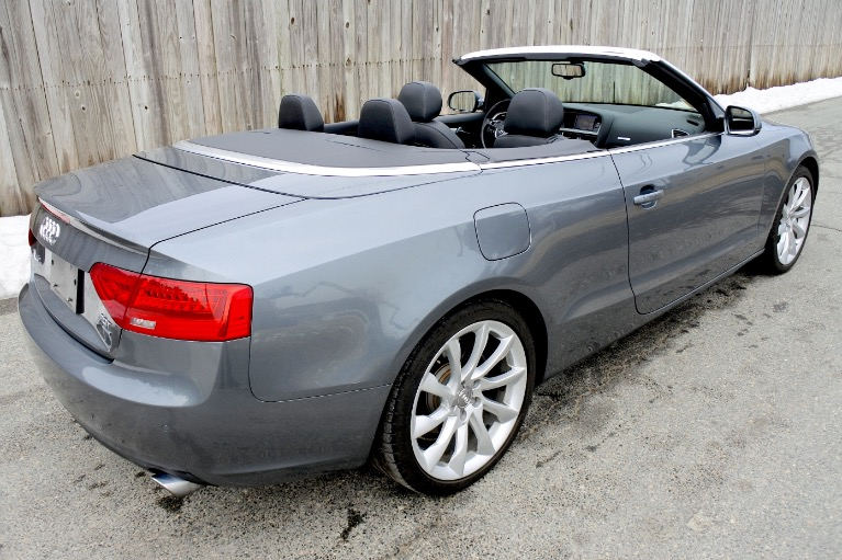 Used 2013 Audi A5 2dr Cabriolet Auto quattro 2.0T Premium Plus Used 2013 Audi A5 2dr Cabriolet Auto quattro 2.0T Premium Plus for sale  at Metro West Motorcars LLC in Shrewsbury MA 9