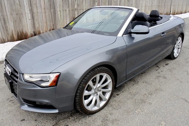 Used 2013 Audi A5 2dr Cabriolet Auto quattro 2.0T Premium Plus Used 2013 Audi A5 2dr Cabriolet Auto quattro 2.0T Premium Plus for sale  at Metro West Motorcars LLC in Shrewsbury MA 1