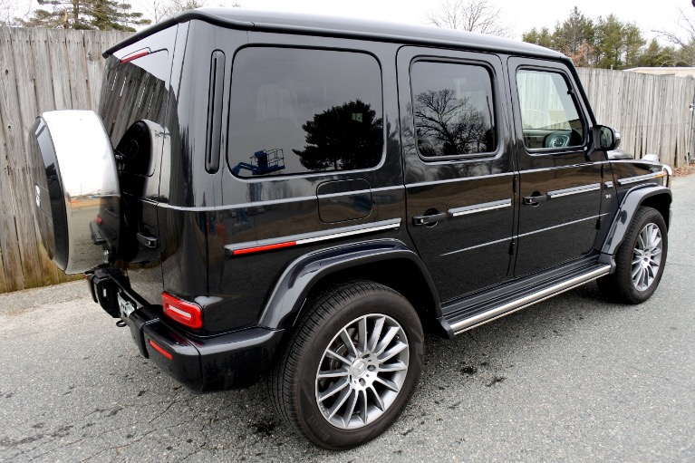 Used 2019 Mercedes-Benz G-class G 550 4MATIC Used 2019 Mercedes-Benz G-class G 550 4MATIC for sale  at Metro West Motorcars LLC in Shrewsbury MA 5