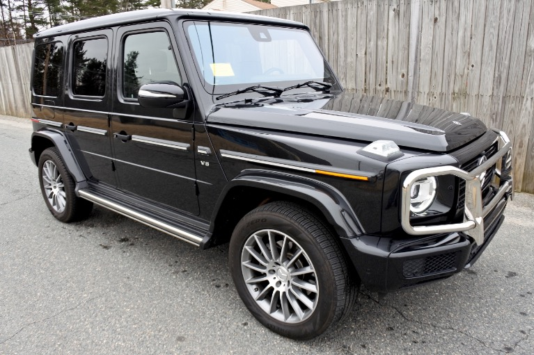 Used 2019 Mercedes-Benz G-class G 550 4MATIC Used 2019 Mercedes-Benz G-class G 550 4MATIC for sale  at Metro West Motorcars LLC in Shrewsbury MA 7