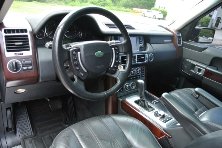 Used 2008 Land Rover Range Rover HSE Used 2008 Land Rover Range Rover HSE for sale  at Metro West Motorcars LLC in Shrewsbury MA 12