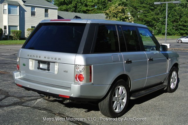 Used 2008 Land Rover Range Rover HSE Used 2008 Land Rover Range Rover HSE for sale  at Metro West Motorcars LLC in Shrewsbury MA 5
