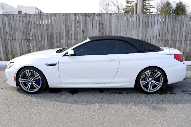 Used 2013 BMW M6 2dr Conv Used 2013 BMW M6 2dr Conv for sale  at Metro West Motorcars LLC in Shrewsbury MA 4