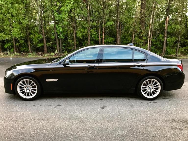 Used 2012 BMW 7 Series 4dr Sdn 750Li xDrive AWD Used 2012 BMW 7 Series 4dr Sdn 750Li xDrive AWD for sale  at Metro West Motorcars LLC in Shrewsbury MA 2