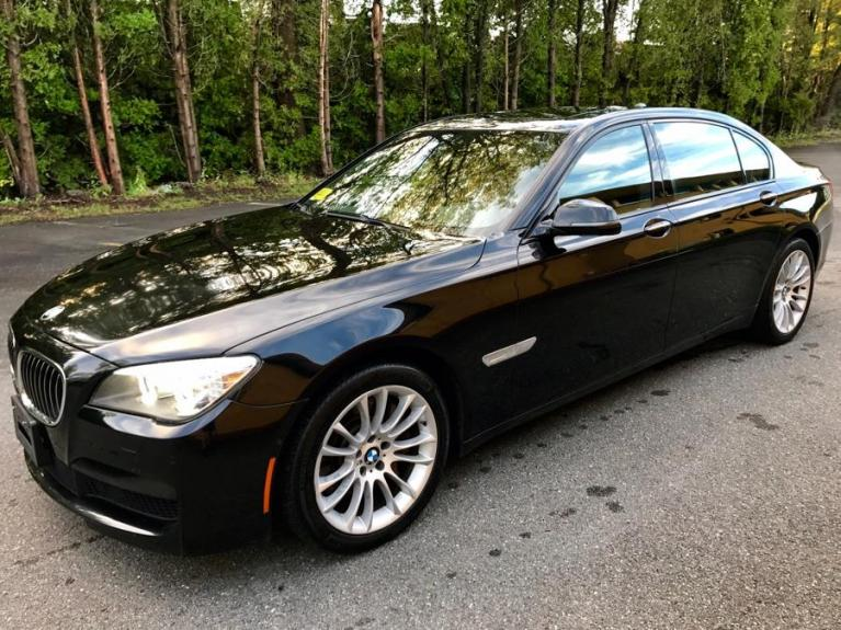 Used 2012 BMW 7 Series 4dr Sdn 750Li xDrive AWD Used 2012 BMW 7 Series 4dr Sdn 750Li xDrive AWD for sale  at Metro West Motorcars LLC in Shrewsbury MA 1