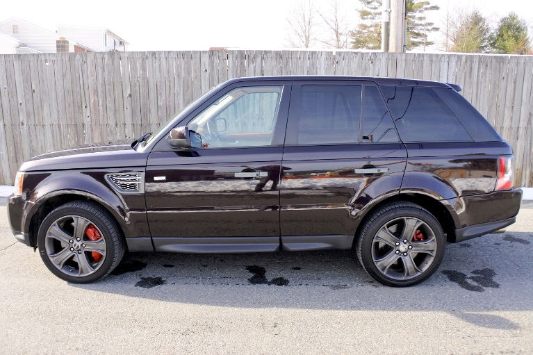 Used 2011 Land Rover Range Rover Sport SC Used 2011 Land Rover Range Rover Sport SC for sale  at Metro West Motorcars LLC in Shrewsbury MA 2
