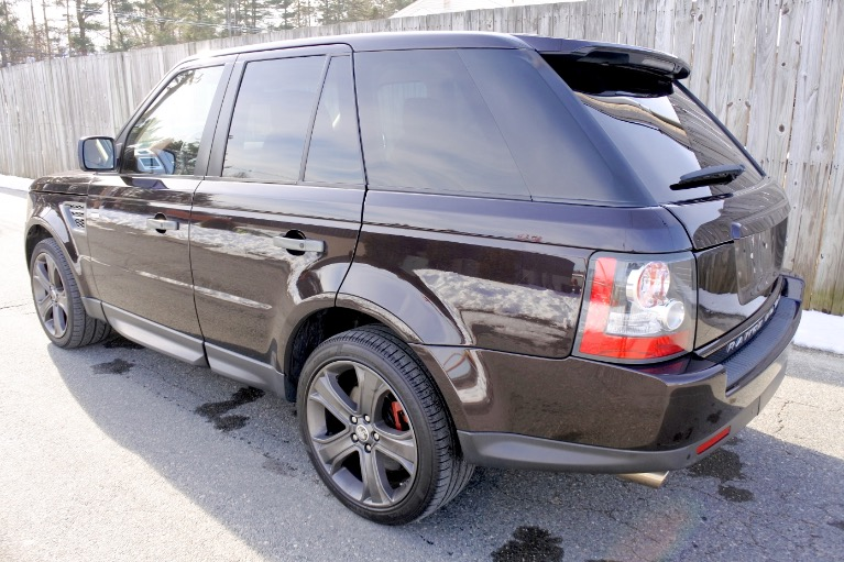 Used 2011 Land Rover Range Rover Sport SC Used 2011 Land Rover Range Rover Sport SC for sale  at Metro West Motorcars LLC in Shrewsbury MA 3