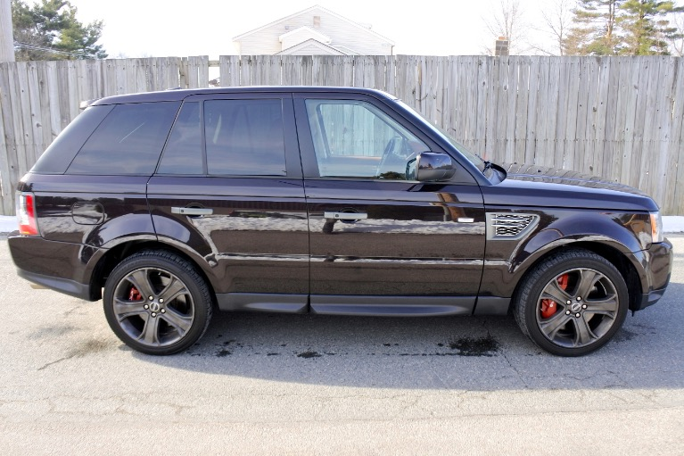 Used 2011 Land Rover Range Rover Sport SC Used 2011 Land Rover Range Rover Sport SC for sale  at Metro West Motorcars LLC in Shrewsbury MA 6