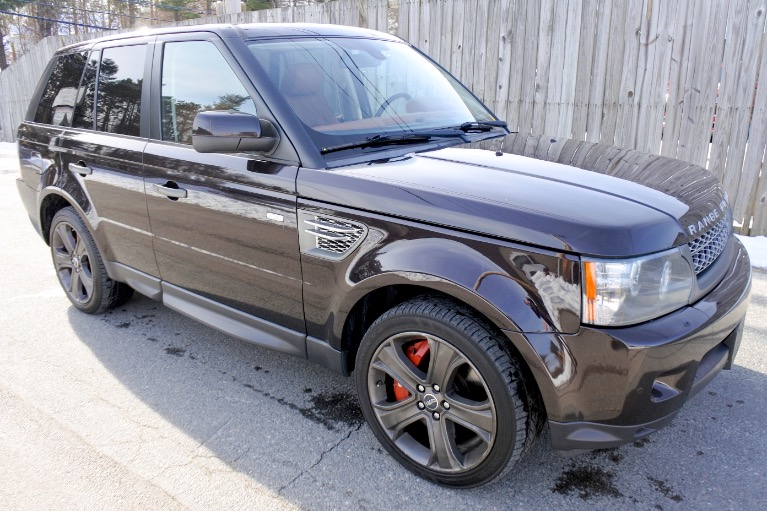 Used 2011 Land Rover Range Rover Sport SC Used 2011 Land Rover Range Rover Sport SC for sale  at Metro West Motorcars LLC in Shrewsbury MA 7