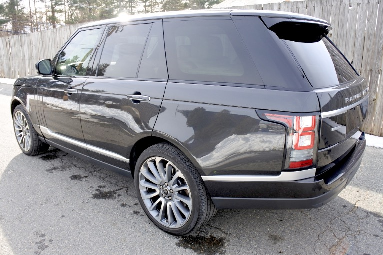 Used 2013 Land Rover Range Rover SC Autobiography Used 2013 Land Rover Range Rover SC Autobiography for sale  at Metro West Motorcars LLC in Shrewsbury MA 3