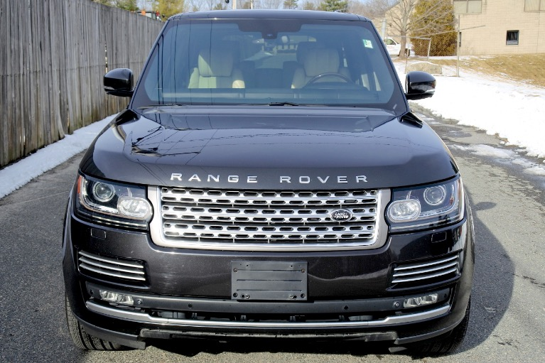 Used 2013 Land Rover Range Rover SC Autobiography Used 2013 Land Rover Range Rover SC Autobiography for sale  at Metro West Motorcars LLC in Shrewsbury MA 8