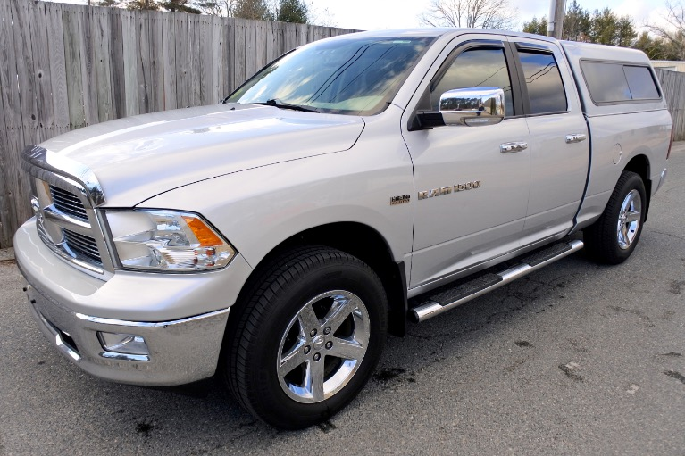 Used Used 2011 Ram 1500 4WD Quad Cab 140.5' Outdoorsman for sale $14,700 at Metro West Motorcars LLC in Shrewsbury MA
