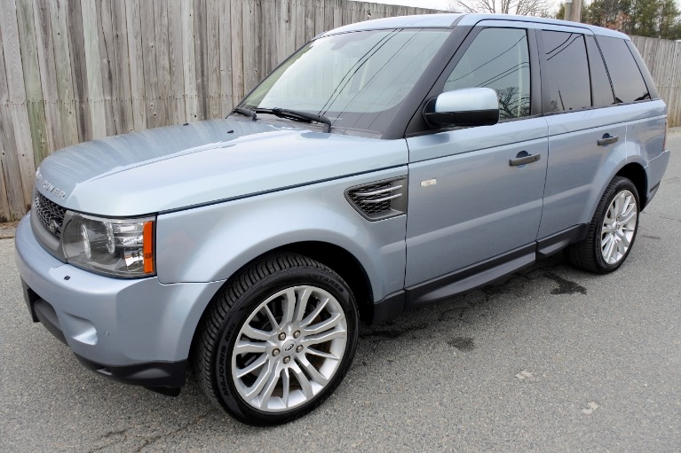 Used Used 2011 Land Rover Range Rover Sport HSE LUX for sale $12,800 at Metro West Motorcars LLC in Shrewsbury MA