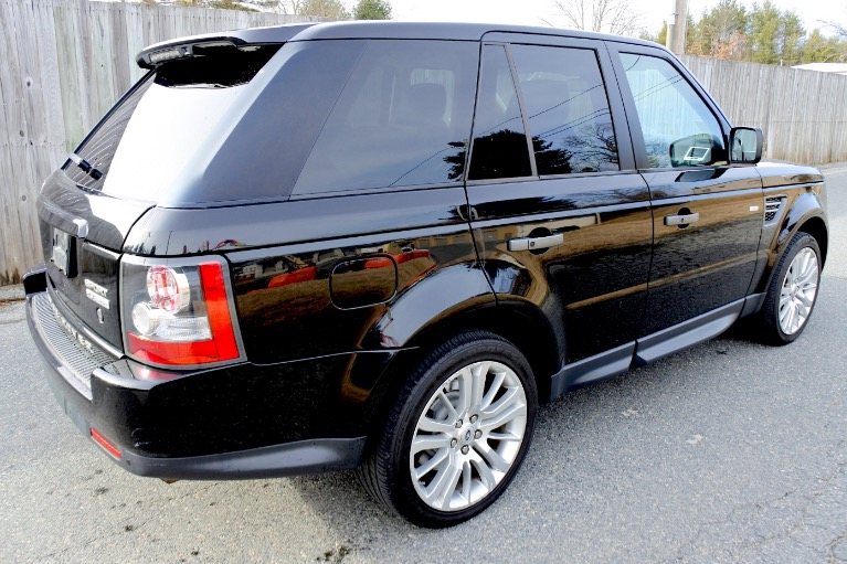 Used 2011 Land Rover Range Rover Sport HSE LUX Used 2011 Land Rover Range Rover Sport HSE LUX for sale  at Metro West Motorcars LLC in Shrewsbury MA 5