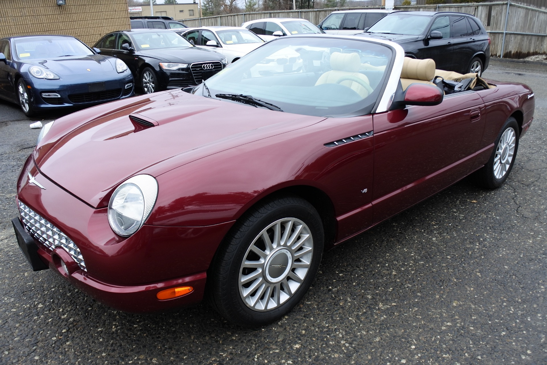 Used 2004 Ford Thunderbird 2dr Convertible Premium Used 2004 Ford Thunderbird 2dr Convertible Premium for sale  at Metro West Motorcars LLC in Shrewsbury MA 17