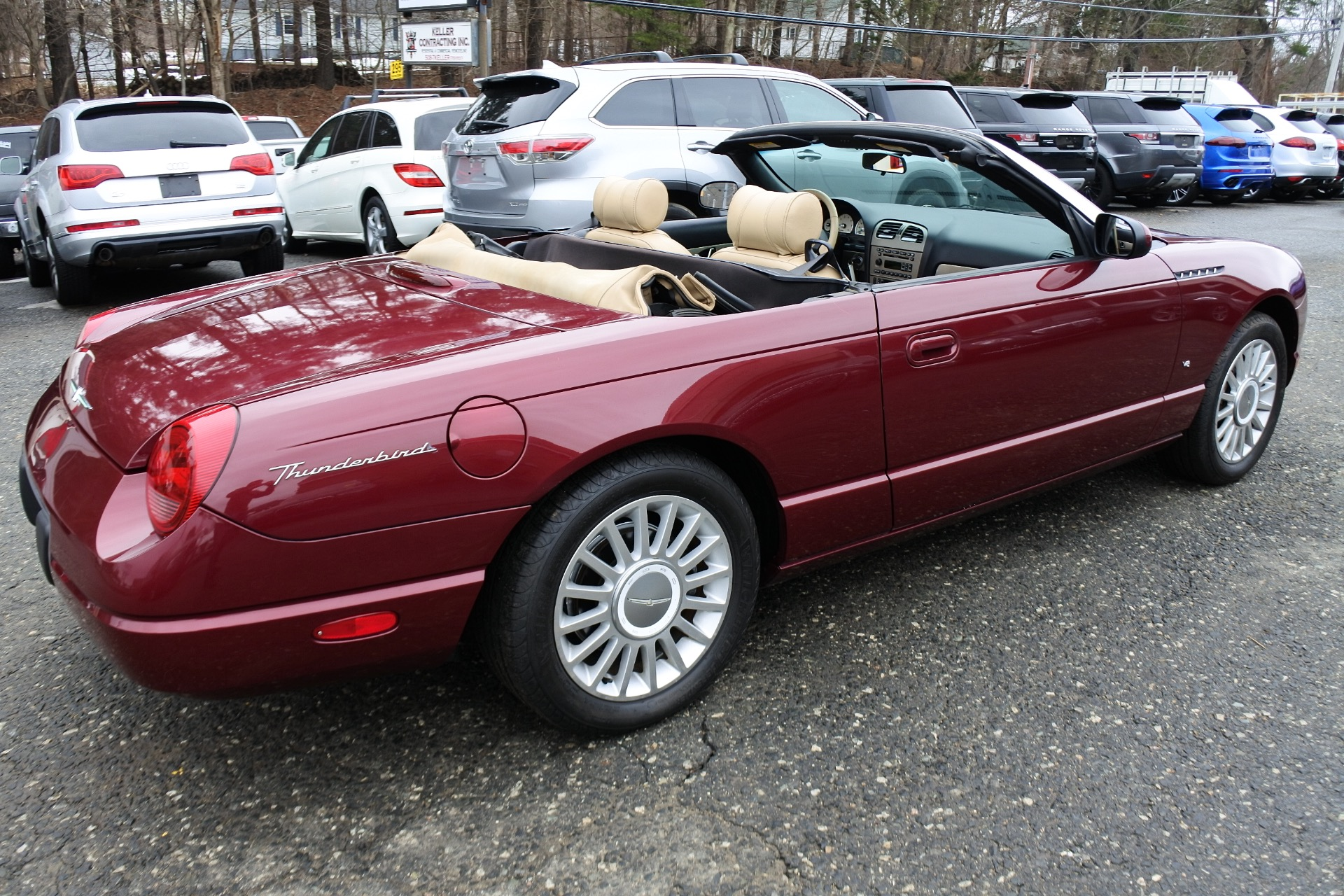 Used 2004 Ford Thunderbird 2dr Convertible Premium Used 2004 Ford Thunderbird 2dr Convertible Premium for sale  at Metro West Motorcars LLC in Shrewsbury MA 19