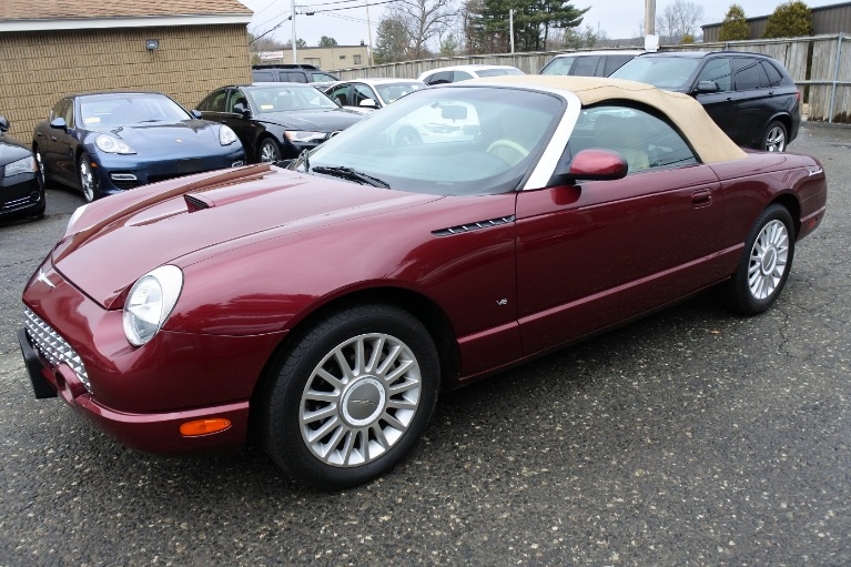 Used 2004 Ford Thunderbird 2dr Convertible Premium Used 2004 Ford Thunderbird 2dr Convertible Premium for sale  at Metro West Motorcars LLC in Shrewsbury MA 21