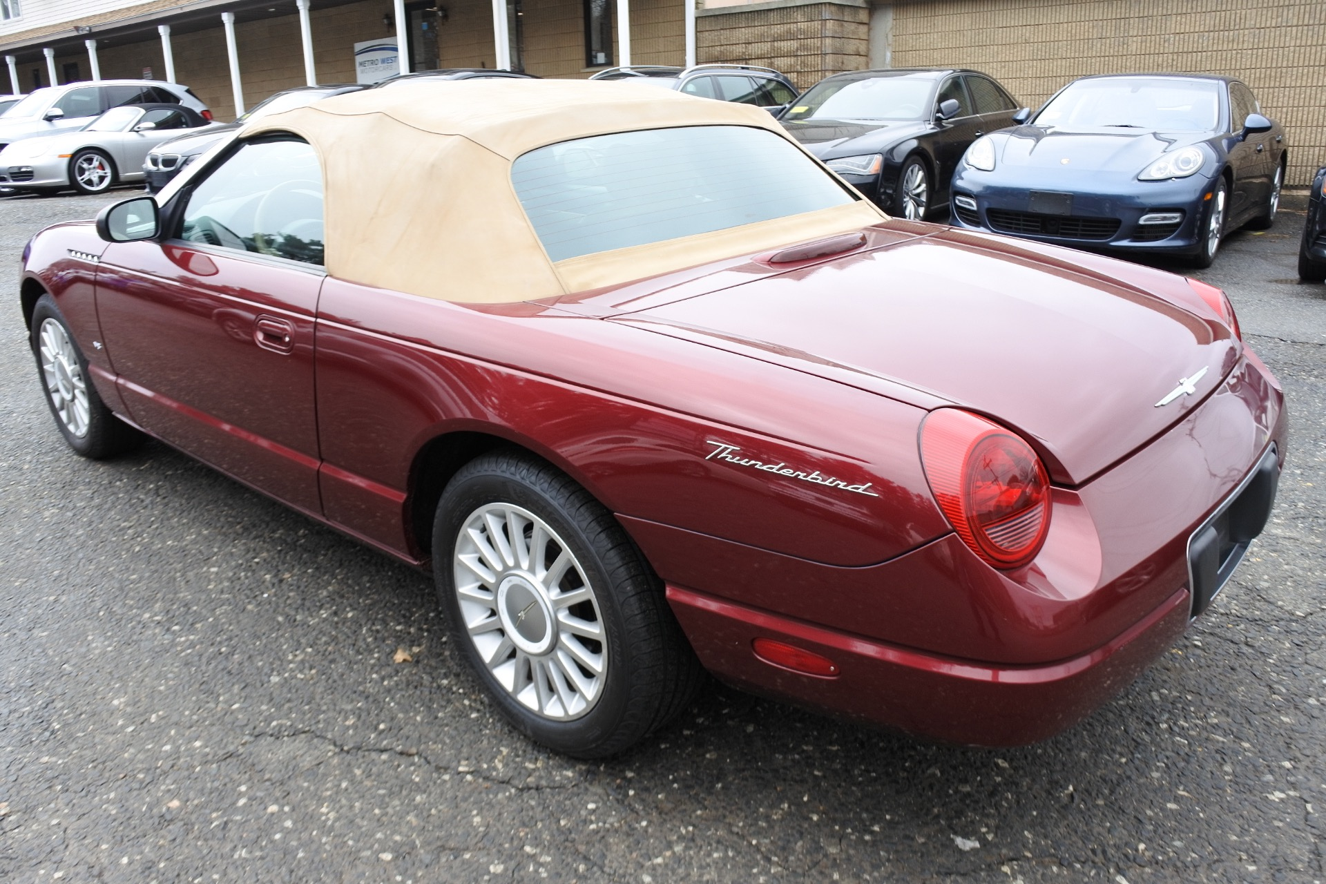 Used 2004 Ford Thunderbird 2dr Convertible Premium Used 2004 Ford Thunderbird 2dr Convertible Premium for sale  at Metro West Motorcars LLC in Shrewsbury MA 22