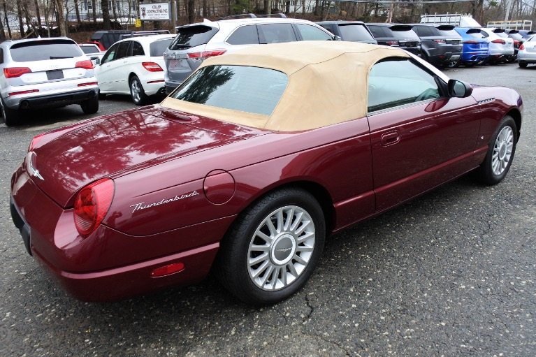 Used 2004 Ford Thunderbird 2dr Convertible Premium Used 2004 Ford Thunderbird 2dr Convertible Premium for sale  at Metro West Motorcars LLC in Shrewsbury MA 23