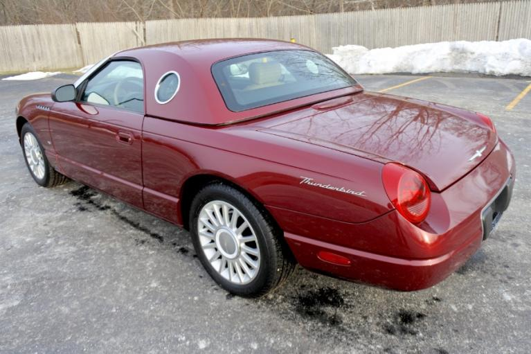 Used 2004 Ford Thunderbird 2dr Convertible Premium Used 2004 Ford Thunderbird 2dr Convertible Premium for sale  at Metro West Motorcars LLC in Shrewsbury MA 3