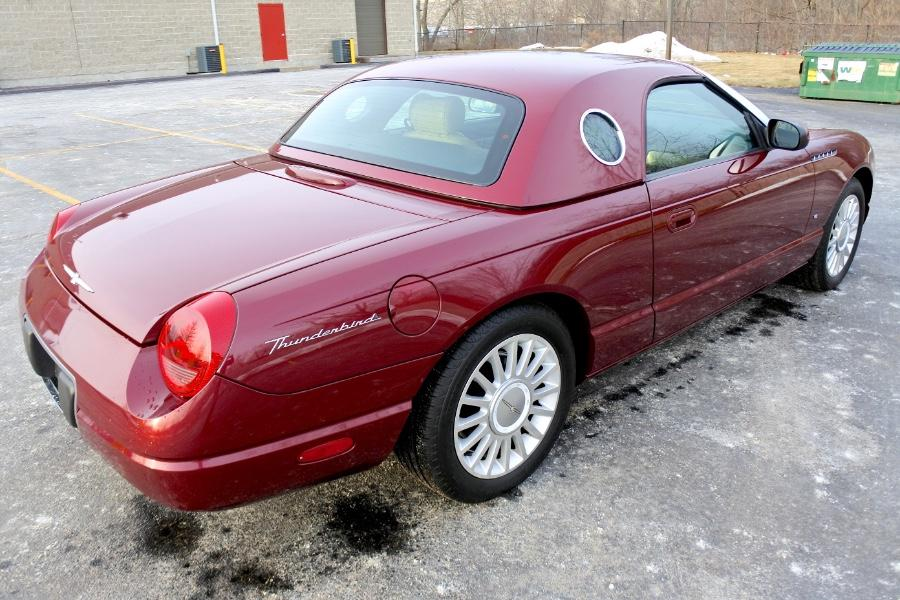 Used 2004 Ford Thunderbird 2dr Convertible Premium Used 2004 Ford Thunderbird 2dr Convertible Premium for sale  at Metro West Motorcars LLC in Shrewsbury MA 5
