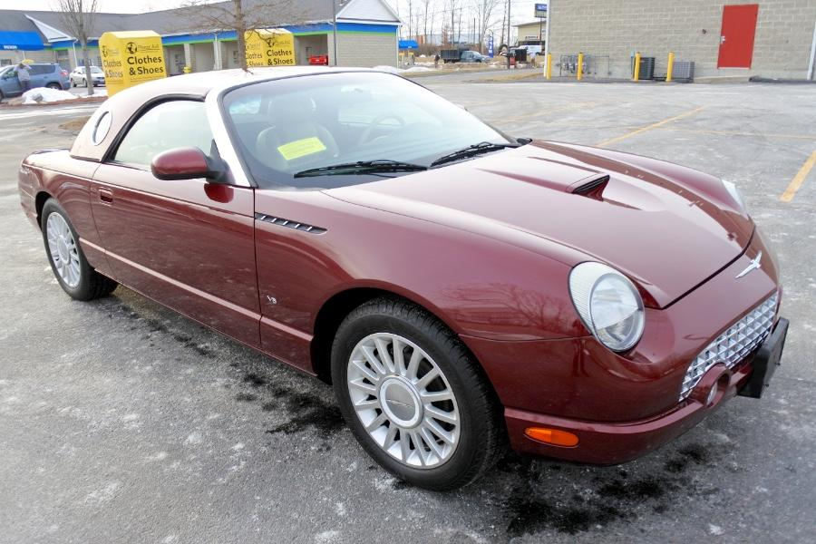 Used 2004 Ford Thunderbird 2dr Convertible Premium Used 2004 Ford Thunderbird 2dr Convertible Premium for sale  at Metro West Motorcars LLC in Shrewsbury MA 7