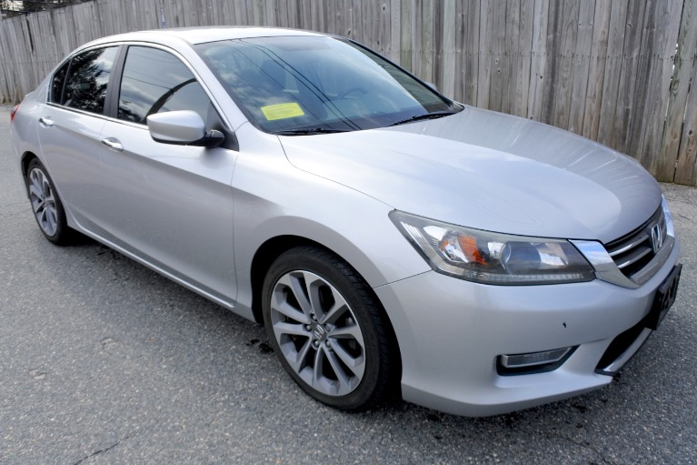 Used 2013 Honda Accord Sdn Sport I4 CVT Used 2013 Honda Accord Sdn Sport I4 CVT for sale  at Metro West Motorcars LLC in Shrewsbury MA 7