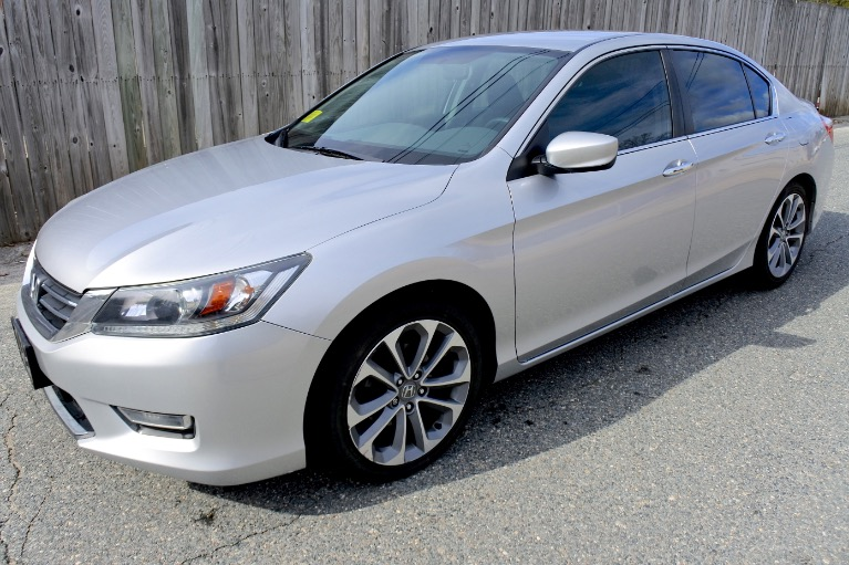 Used 2013 Honda Accord Sdn Sport I4 CVT Used 2013 Honda Accord Sdn Sport I4 CVT for sale  at Metro West Motorcars LLC in Shrewsbury MA 1