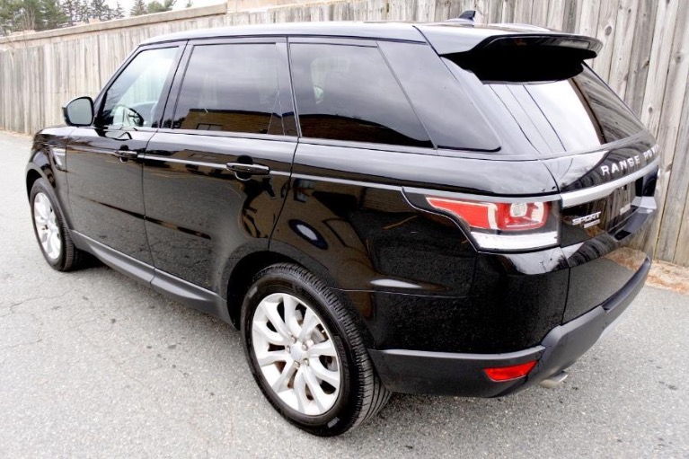 Used 2016 Land Rover Range Rover Sport HSE Used 2016 Land Rover Range Rover Sport HSE for sale  at Metro West Motorcars LLC in Shrewsbury MA 3