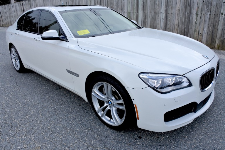 Used 2014 BMW 7 Series 750i xDrive AWD Used 2014 BMW 7 Series 750i xDrive AWD for sale  at Metro West Motorcars LLC in Shrewsbury MA 7