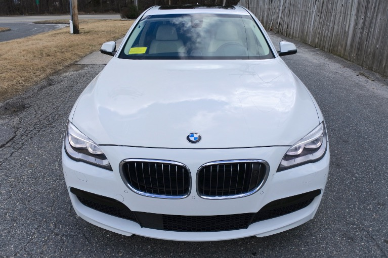 Used 2014 BMW 7 Series 750i xDrive AWD Used 2014 BMW 7 Series 750i xDrive AWD for sale  at Metro West Motorcars LLC in Shrewsbury MA 8