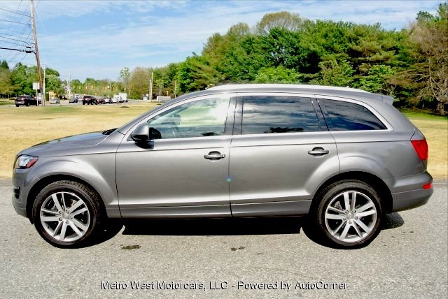 Used 2012 Audi Q7 3.0T Premium Plus Quattro Used 2012 Audi Q7 3.0T Premium Plus Quattro for sale  at Metro West Motorcars LLC in Shrewsbury MA 2