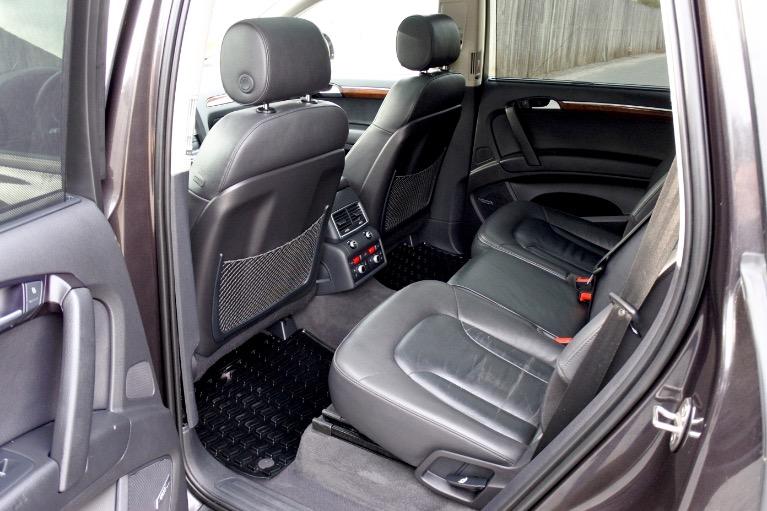 Used 2015 Audi Q7 TDI Premium Plus Quattro Used 2015 Audi Q7 TDI Premium Plus Quattro for sale  at Metro West Motorcars LLC in Shrewsbury MA 15
