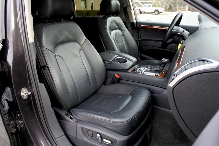 Used 2015 Audi Q7 TDI Premium Plus Quattro Used 2015 Audi Q7 TDI Premium Plus Quattro for sale  at Metro West Motorcars LLC in Shrewsbury MA 24