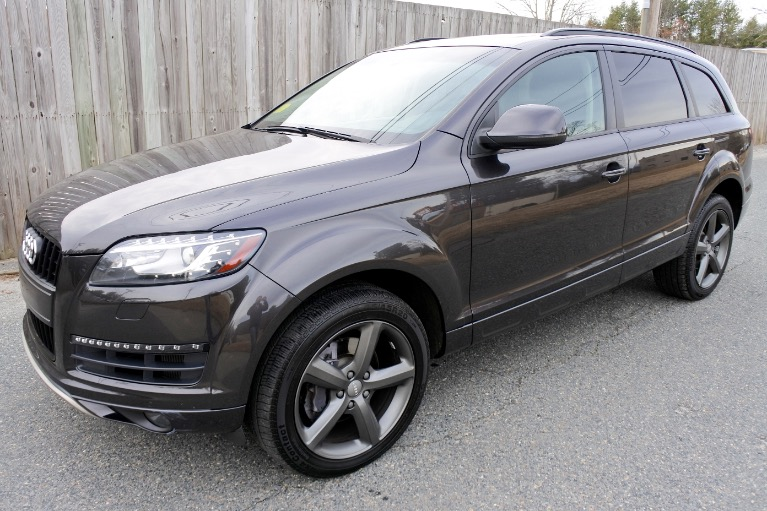 Used Used 2015 Audi Q7 TDI Premium Plus Quattro for sale $23,800 at Metro West Motorcars LLC in Shrewsbury MA