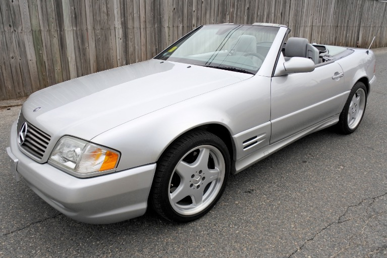 Used Used 2002 Mercedes-Benz Sl-class 2dr Roadster 5.0L for sale $19,900 at Metro West Motorcars LLC in Shrewsbury MA