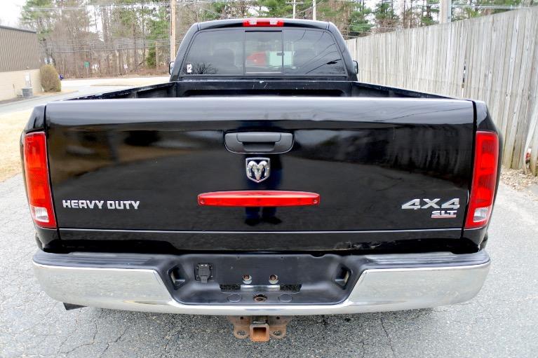 Used 2005 Dodge Ram 3500 4dr Quad Cab 160.5' WB DRW 4WD ST Used 2005 Dodge Ram 3500 4dr Quad Cab 160.5' WB DRW 4WD ST for sale  at Metro West Motorcars LLC in Shrewsbury MA 4