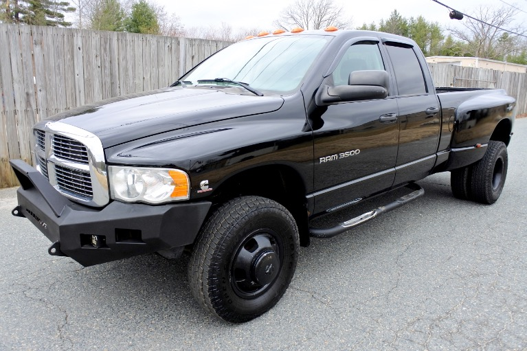 Used Used 2005 Dodge Ram 3500 4dr Quad Cab 160.5' WB DRW 4WD ST for sale $22,800 at Metro West Motorcars LLC in Shrewsbury MA