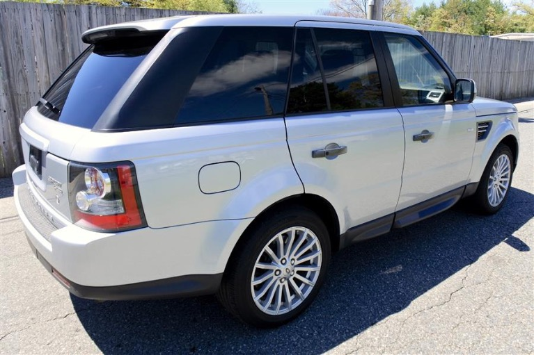 Used 2012 Land Rover Range Rover Sport HSE Used 2012 Land Rover Range Rover Sport HSE for sale  at Metro West Motorcars LLC in Shrewsbury MA 5