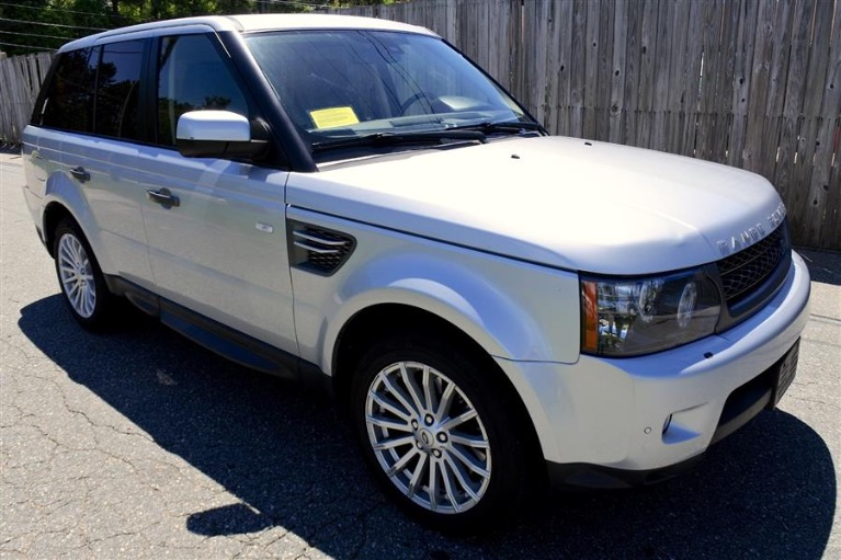 Used 2012 Land Rover Range Rover Sport HSE Used 2012 Land Rover Range Rover Sport HSE for sale  at Metro West Motorcars LLC in Shrewsbury MA 7